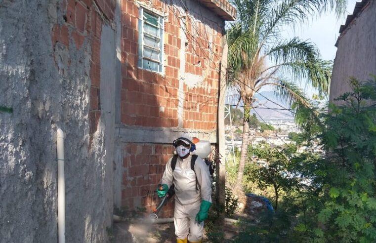 Confira as 23 favelas do Rio que serão sanitizadas pela Cedae nesta semana