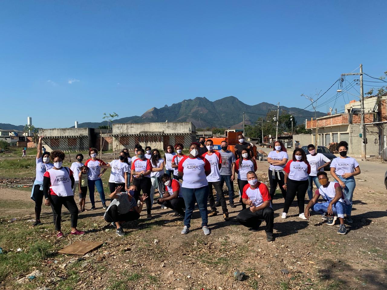 Projeto Social na Cidade de Deus muda rotina para ajudar famílias afetadas pela pandemia
