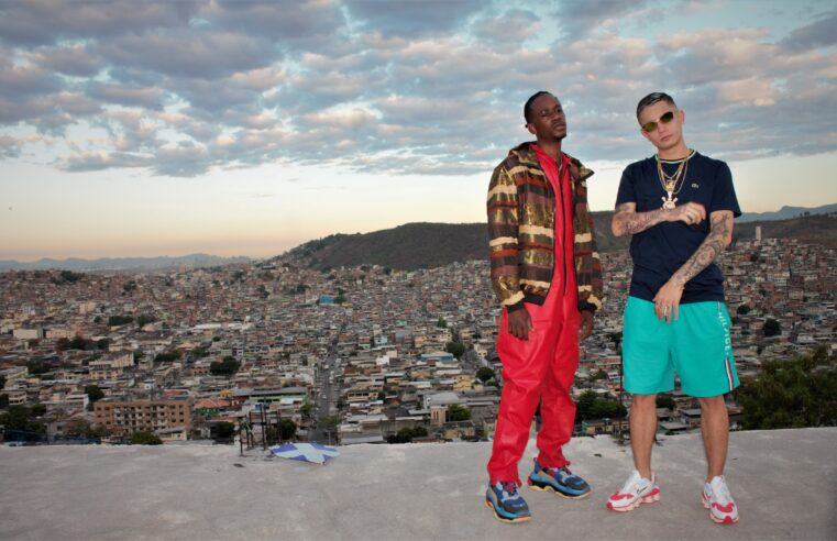 MC Hariel e Dj Zullu gravam clipe no Konteiner, na Vila Cruzeiro