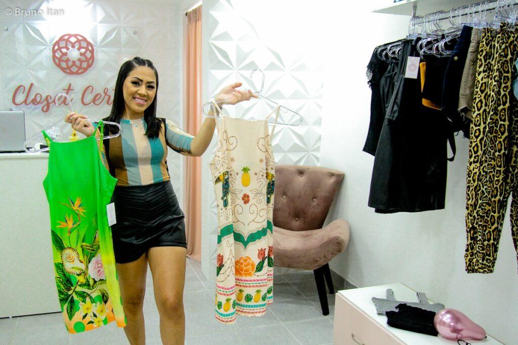 Closet Certo: moradora do Alemão inaugura loja no Mirante do Complexo. Foto: acervo pessoal