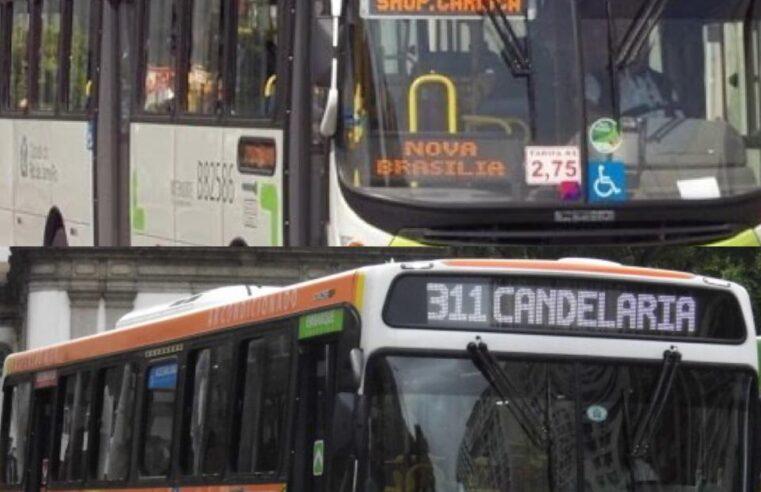 Cadê as linhas de ônibus que passam pelo Complexo do Alemão sentido Av. Itaóca?