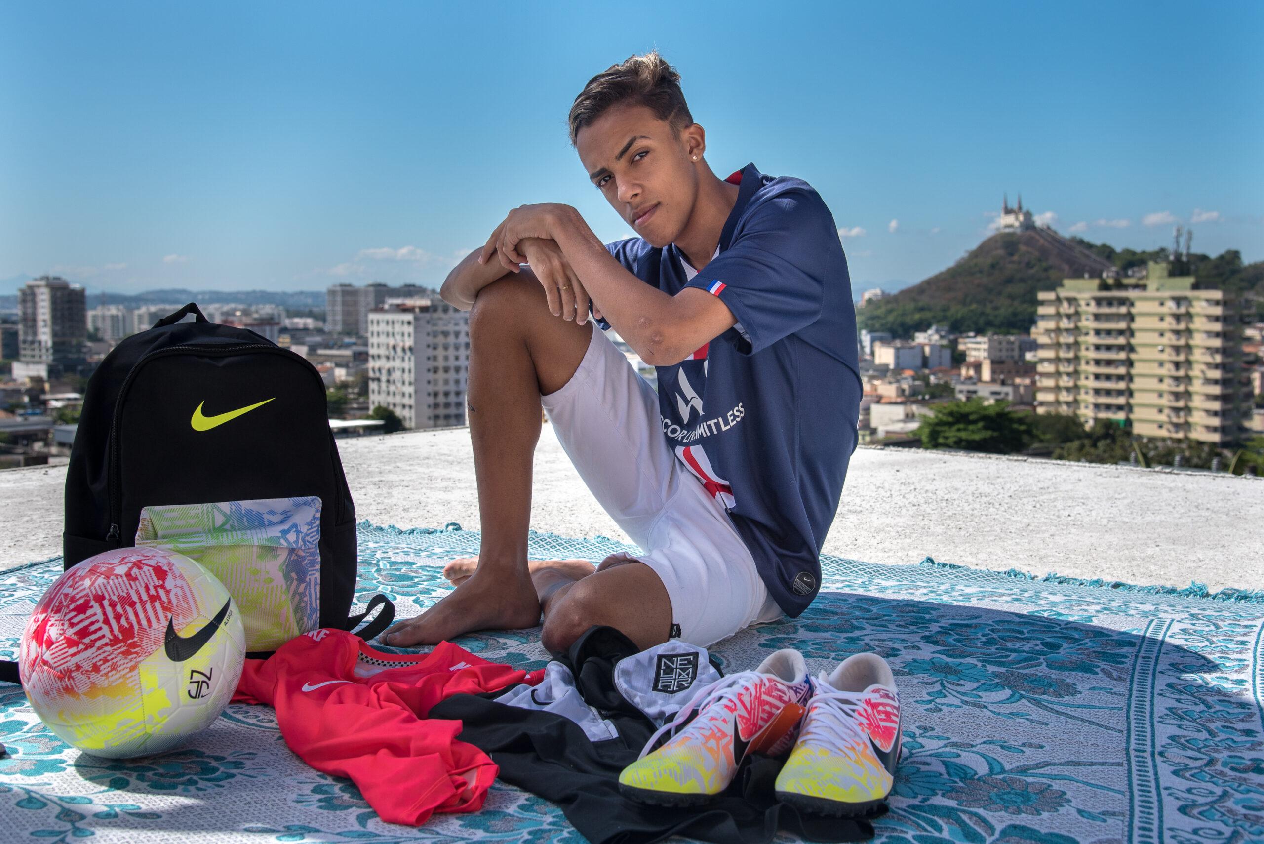 Conheça Edi Junior, o tiktoker da Vila Cruzeiro que ganhou mimos de Neymar