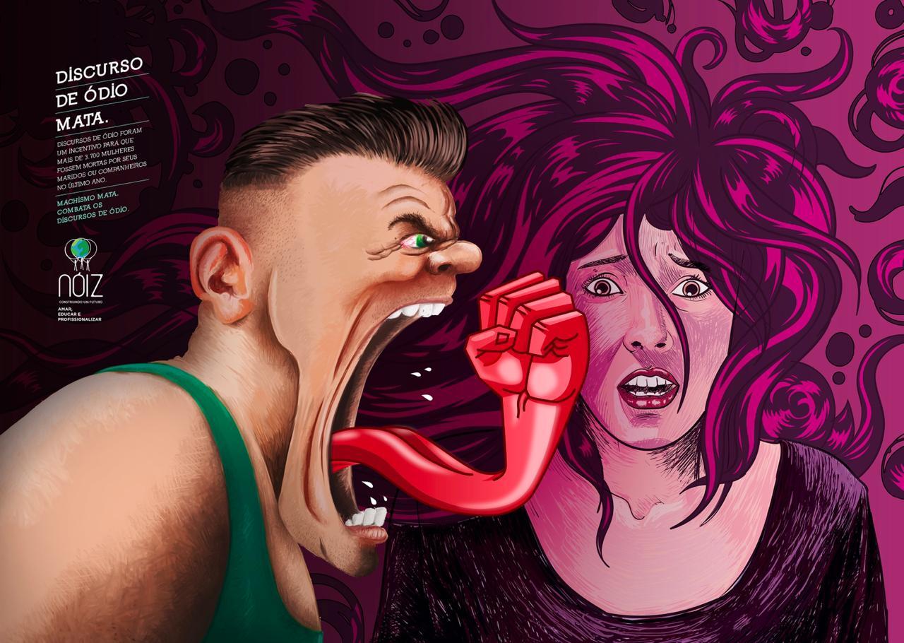 ONG Nóiz e Agência 3AW lançam campanha contra discurso de ódio