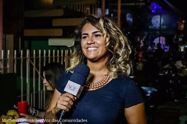 Alana Nascimento em horário nobre na reestreia do  Voz Mulher
