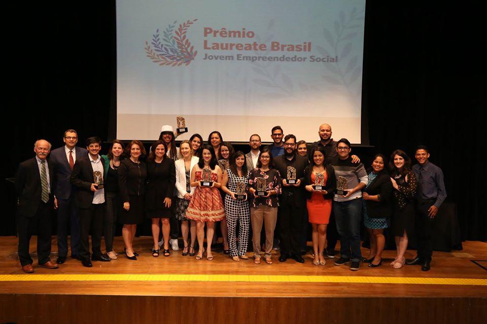 Premiação Laureate Brasil abre inscrições para seleção de jovens empreendedores sociais