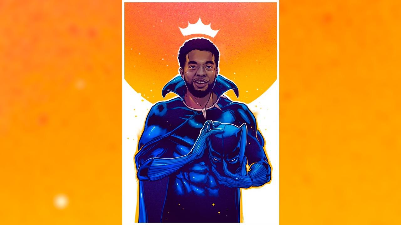 Em parceria com o Voz das Comunidades, ilustrador Draco doará posters para favelas em homenagem ao Pantera Negra
