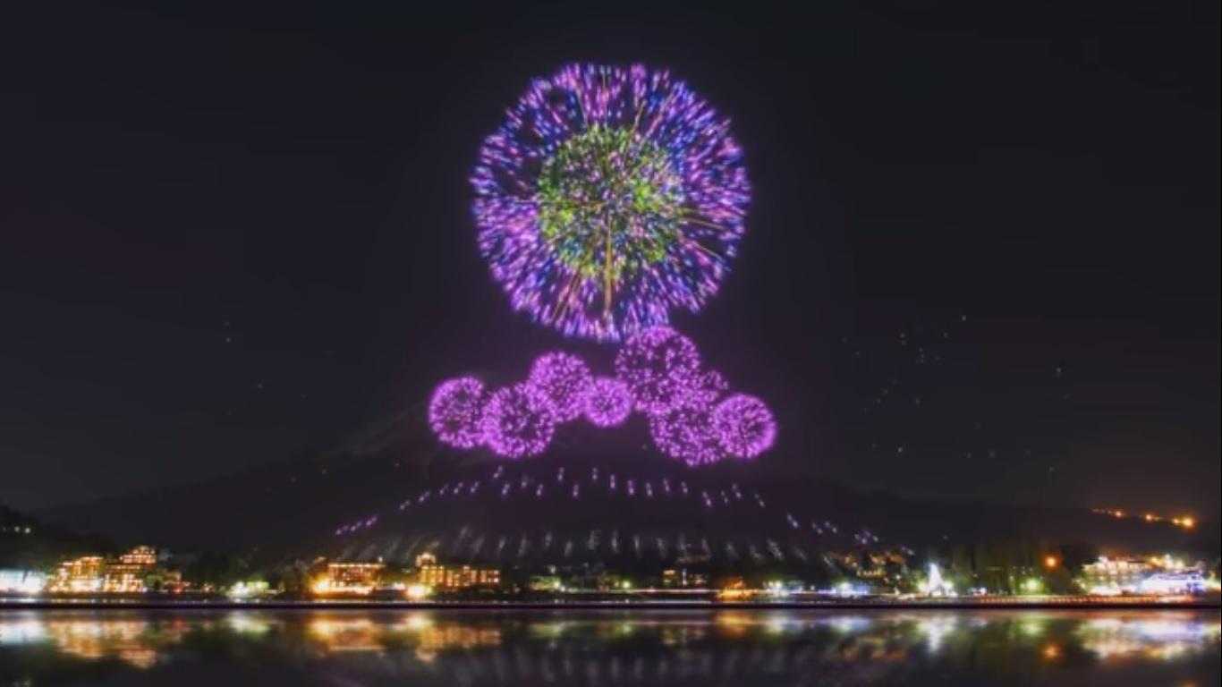 É FALSO o vídeo que mostra show de fogos de artifícios das Olimpíadas de Tóquio