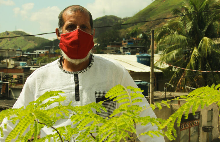 Projeto MUDA VK: Morador faz gerenciamento de resíduos orgânicos na Vila Kennedy
