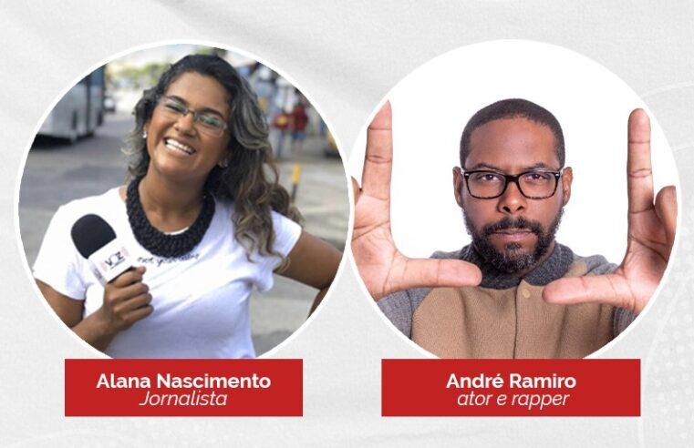 Cria da Vila Kennedy, ator André Ramiro fala sobre cultura amanhã (09) no programa Voz Entrevista