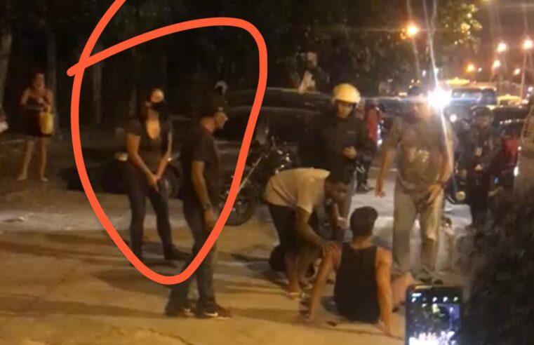 Policial atira em motorista da van durante uma discussão no Complexo do Alemão / Vídeo