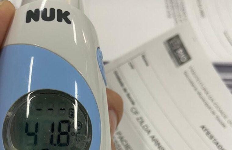 Sem ar condicionado, Clínica da Família do Alemão bate novo recorde de calor
