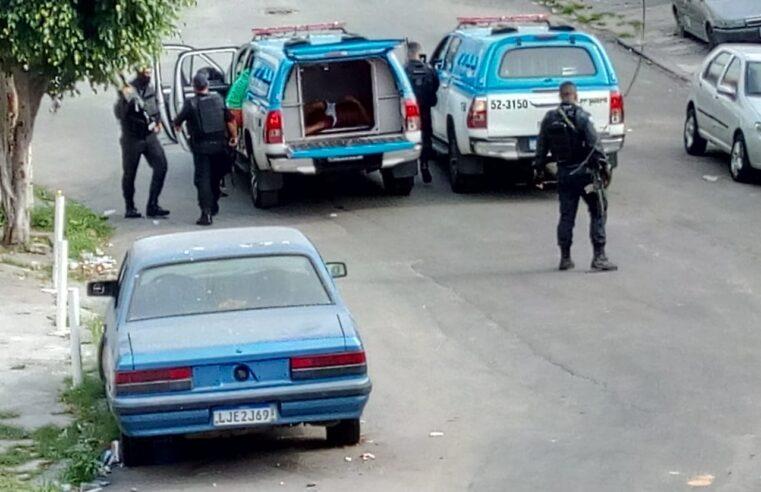 Manhã de tiroteio no Complexo da Penha deixa baleados