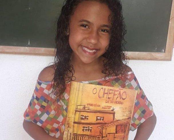 Bombom Books vai doar livros para creche no Alemão