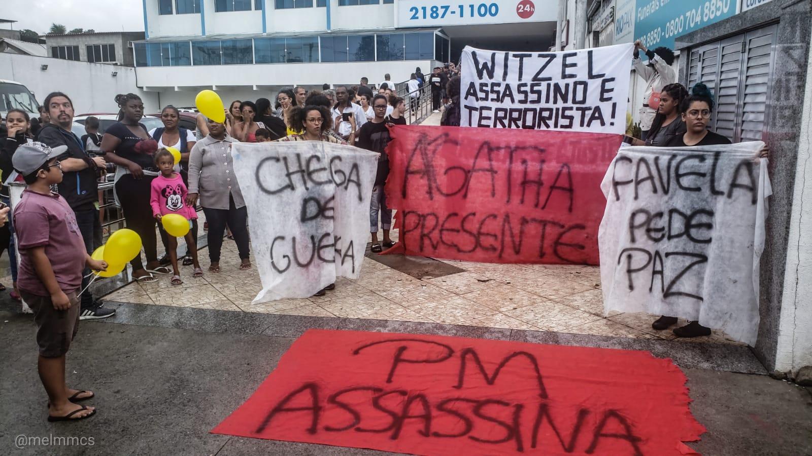 Caso Ágatha Félix: policial responsável pelo disparo responde em liberdade
