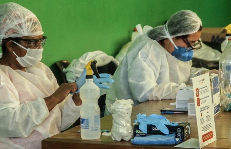Em 1 semana mais de 100 pessoas testam positivo para Covid-19 no Santa Marta