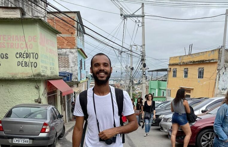 Fotógrafo Felipe Paiva, cria do Vidigal, faleceu na manhã desta quarta-feira (21)