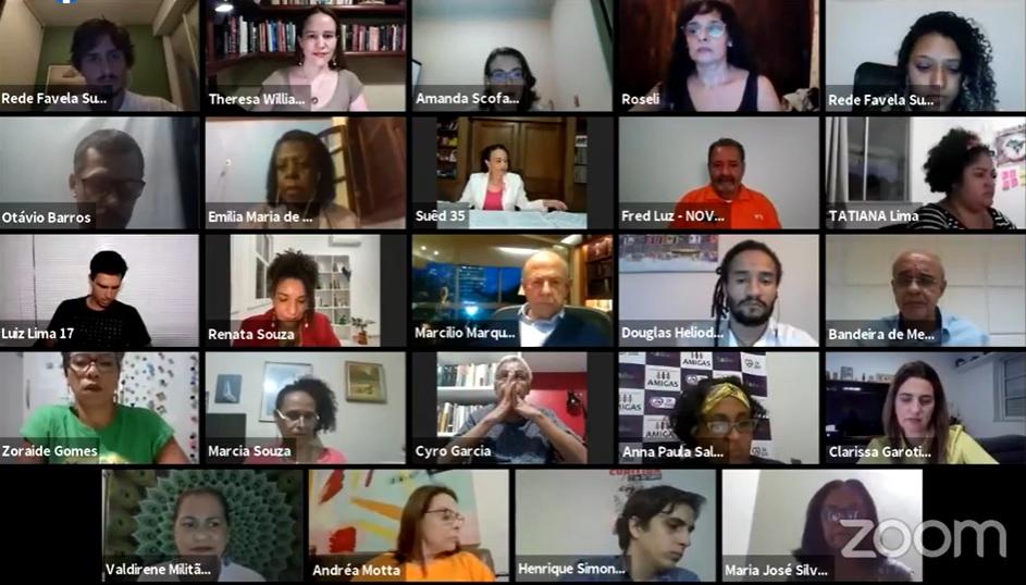 Rede Favela Sustentável protagoniza primeiro debate nas redes para as favelas