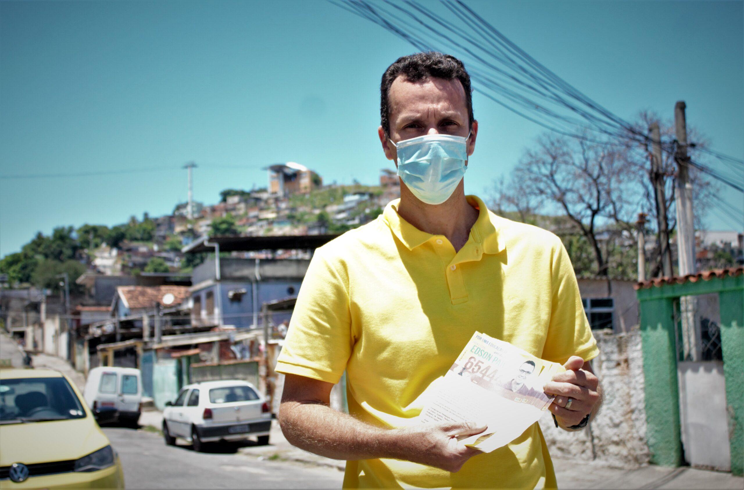 Voz nas Eleições 2020: Professor Edson Paiva