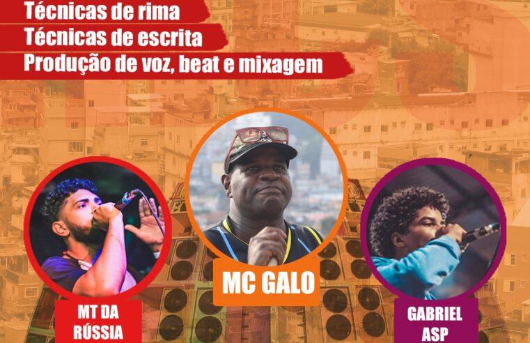 Estão abertas as inscrições para a Escola de MC's da Rocinha