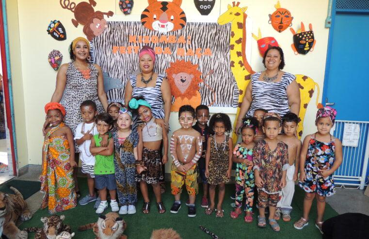 Creche na Cidade de Deus realiza projetos pautados na cultura afrobrasileira