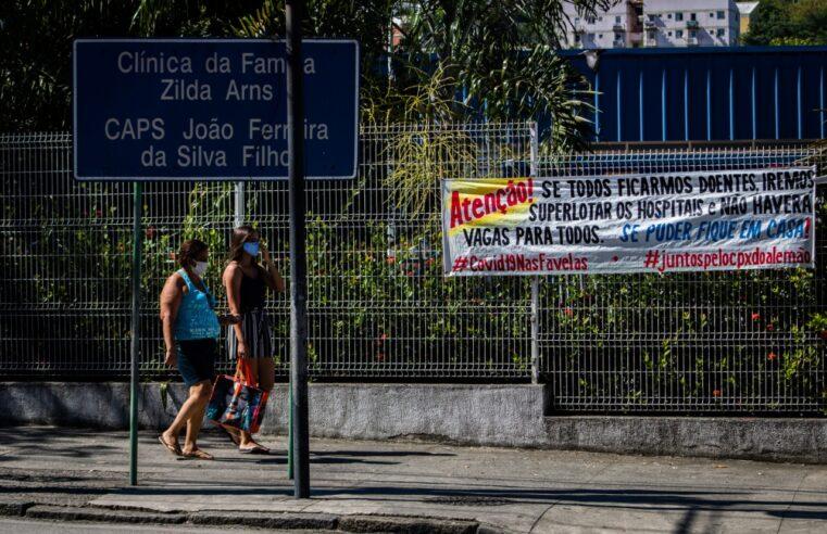 Clínica da Família do Alemão atende mais de 100 moradores com suspeita de Covid em 24h