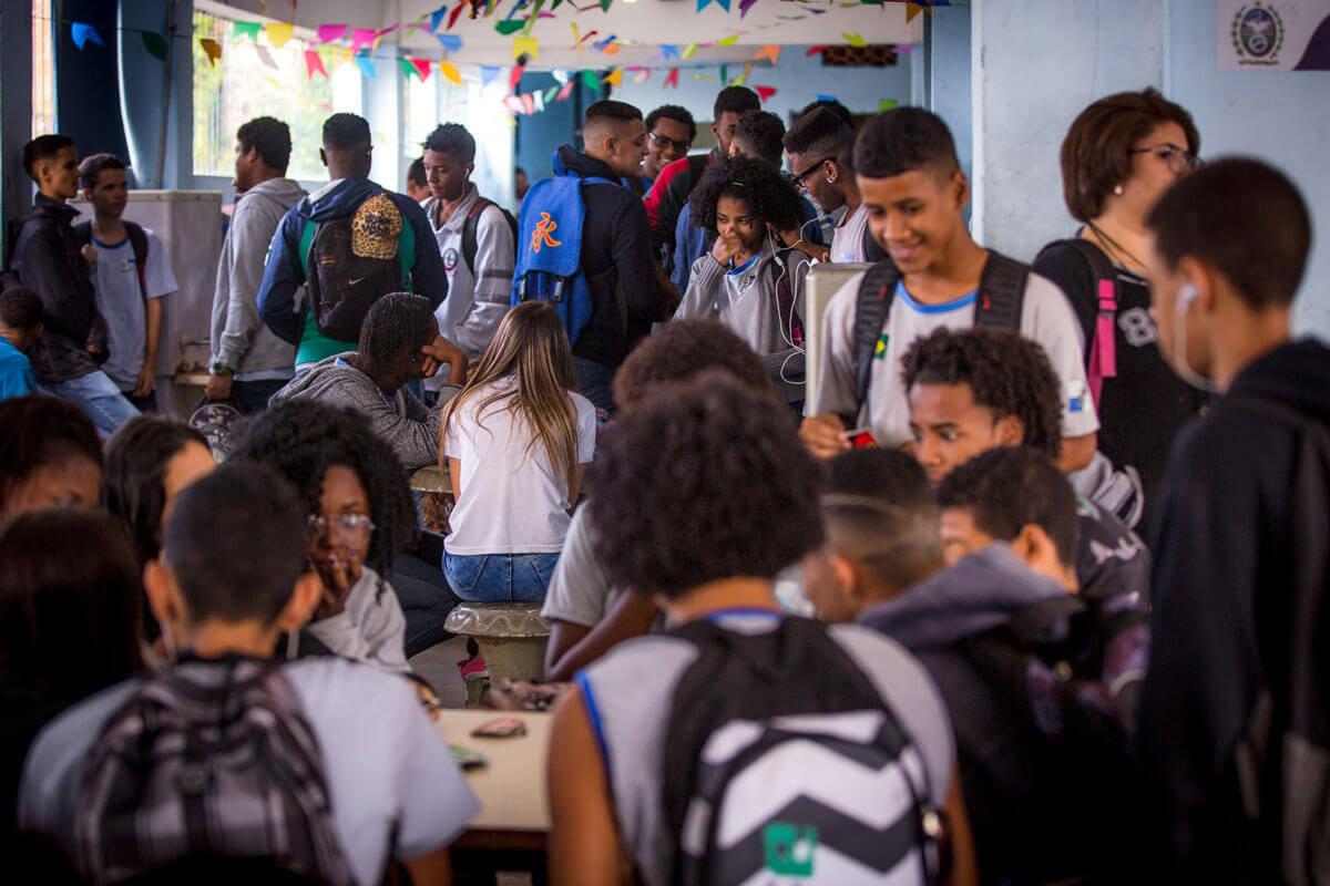 Começa hoje (25) o período de rematrícula para alunos da rede pública estadual