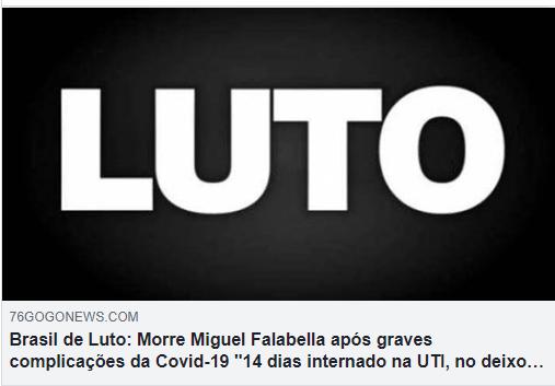 Ator Miguel Falabella NÃO morreu