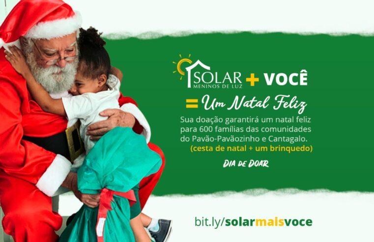 Um Natal Feliz: ONG arrecada doações para famílias do Pavão-Pavãozinho e Cantagalo
