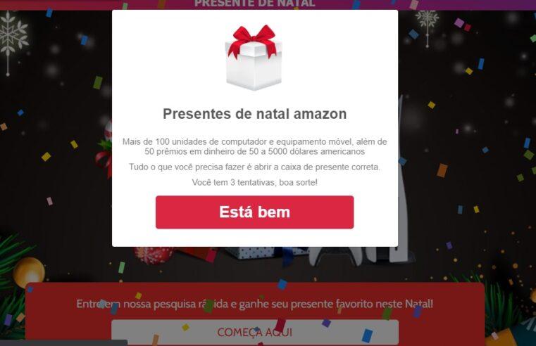 Amazon NÃO está dando presentes de natal