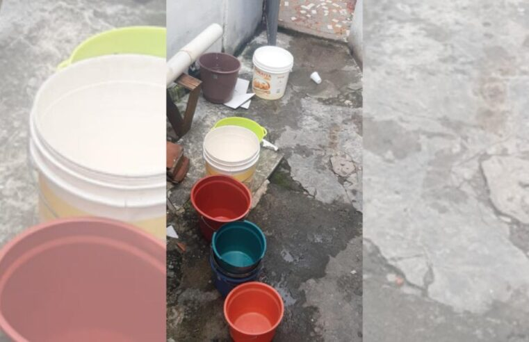 Moradores do Alemão sofrem com a falta d'água há 1 mês