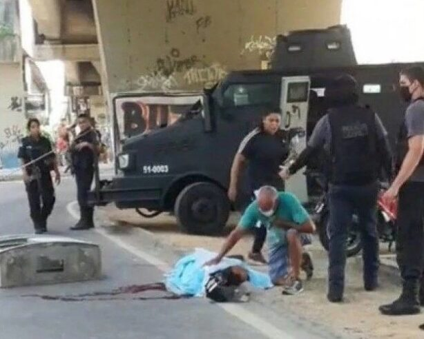 Trabalhador é morto a tiros na entrada da Cidade De Deus