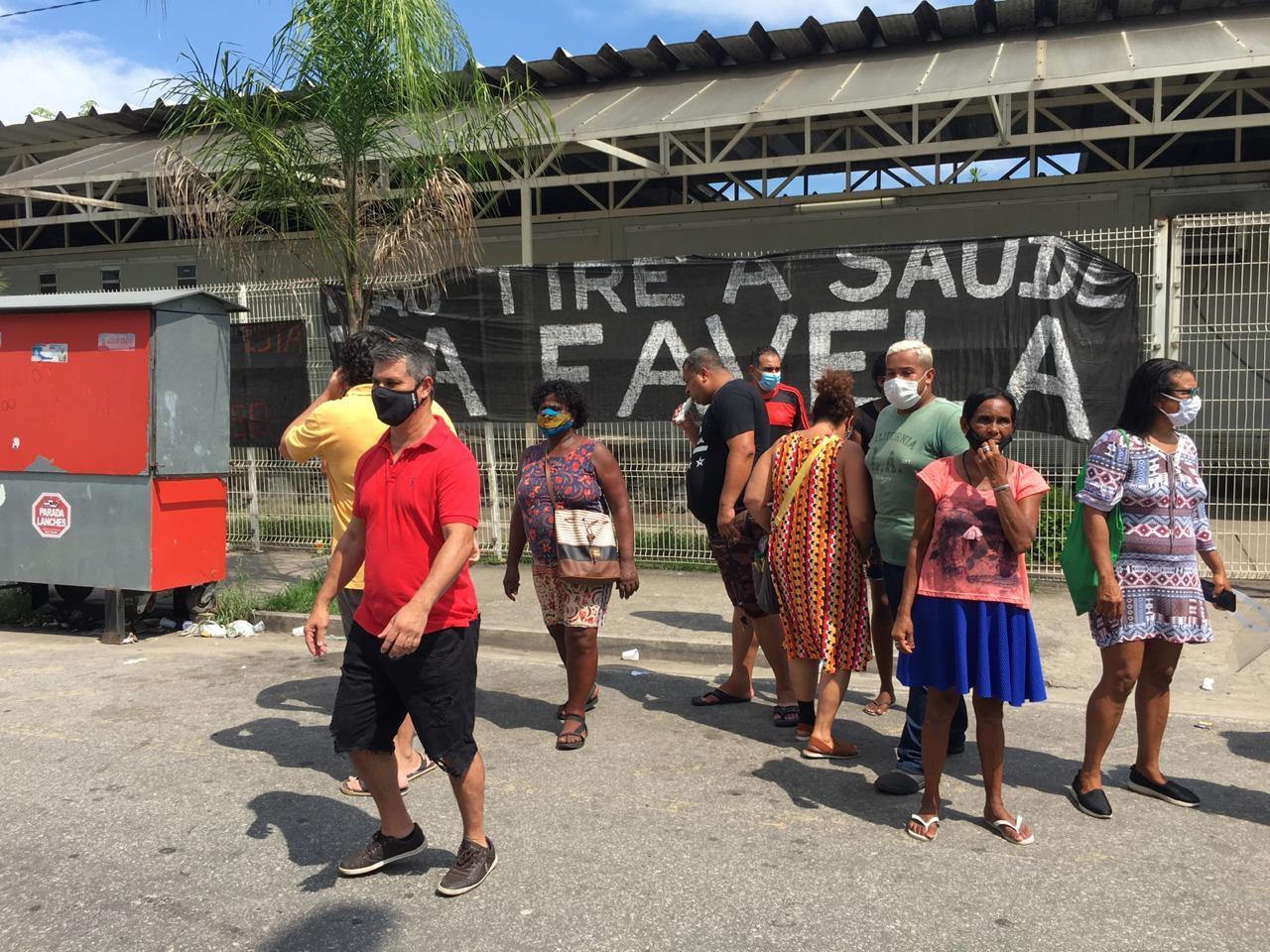 UPA de Manguinhos é fechada por fim de contrato de profissionais da saúde