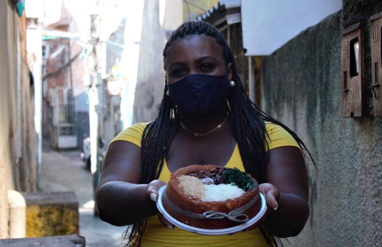 Bolo de feijoada faz sucesso nas redes e na favela