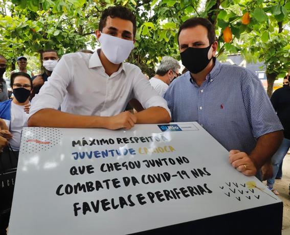 Prefeitura do Rio homenageia juventude periférica que atua no combate à Covid-19