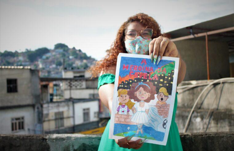 Jovem da Vila Cruzeiro escreve livro infantil com protagonista negra e favelada