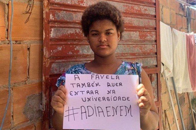 OPINIÃO | ADIA ENEM: A favela também tem direito de ingressar na universidade