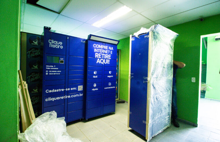 Vila Cruzeiro se tornou a primeira favela do Rio a ter e-boxes de entregas
