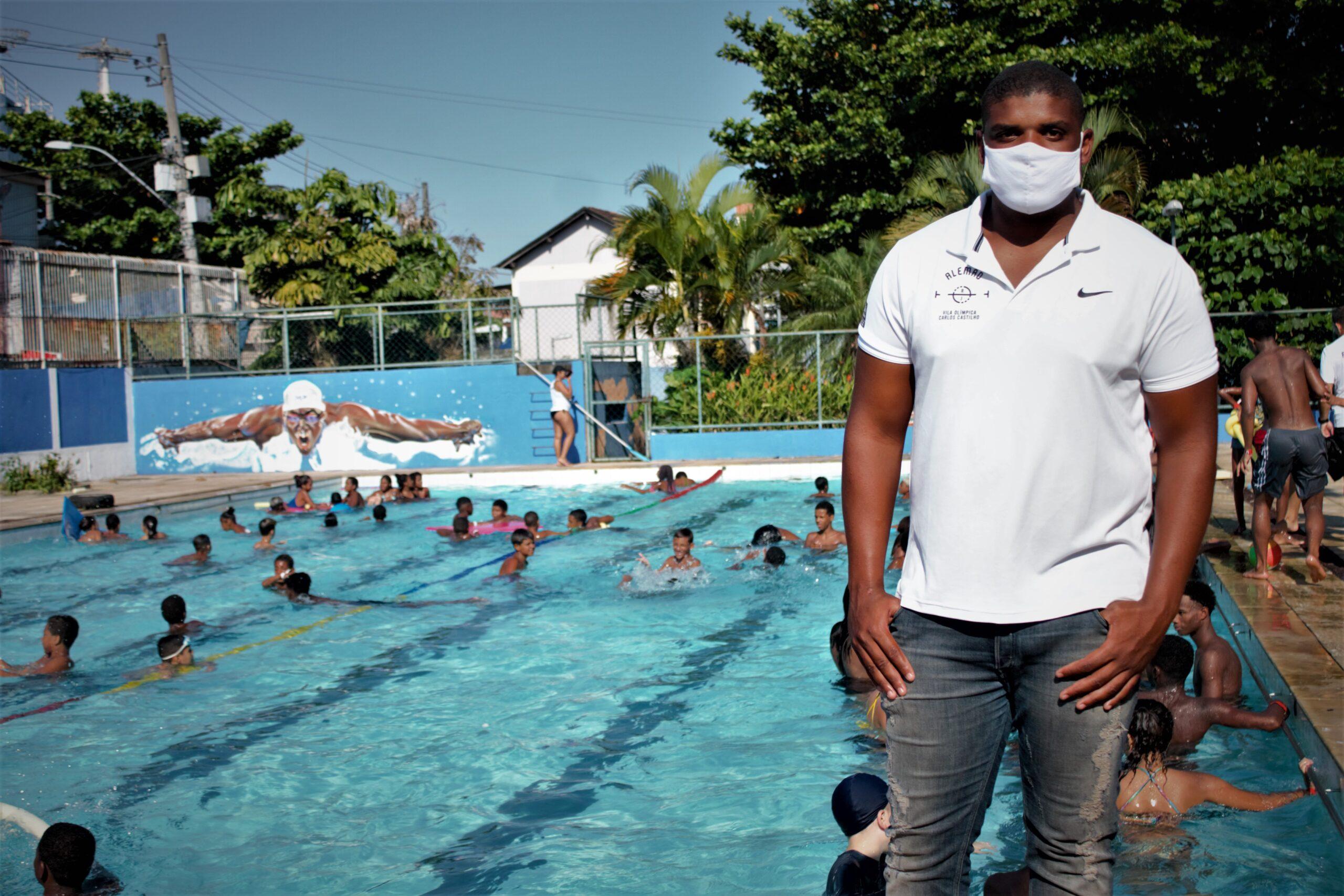 Vila Olímpica do Complexo do Alemão promove colônia de férias para as crianças