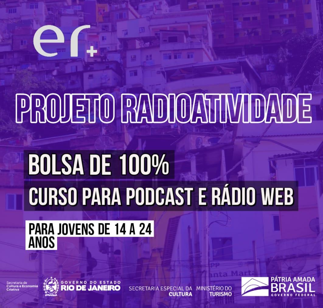 Estão abertas as inscrições para o curso online do Projeto Radioatividade
