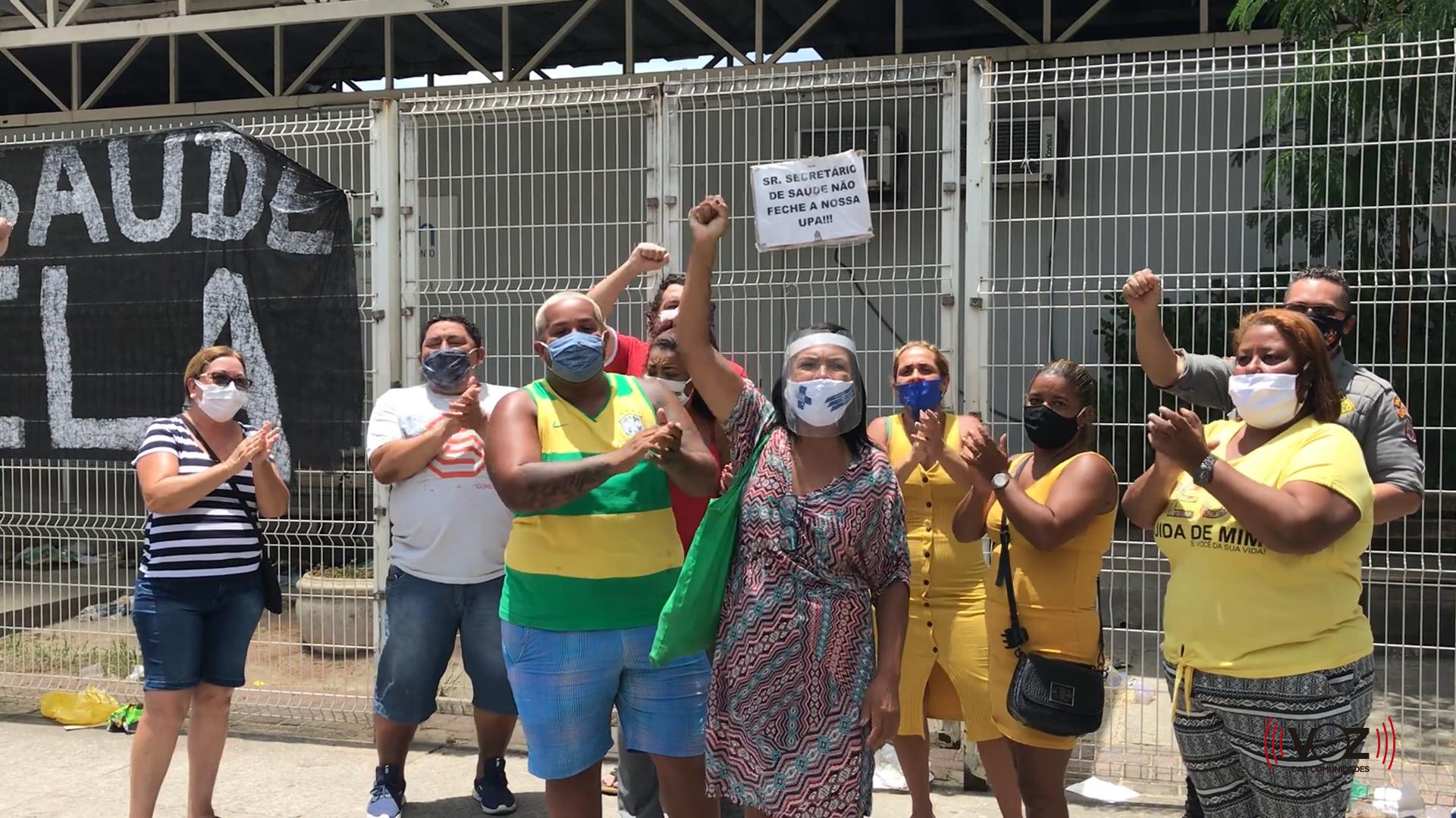 Lideranças comunitárias de Manguinhos exigem reabertura da UPA na Zona Norte do Rio