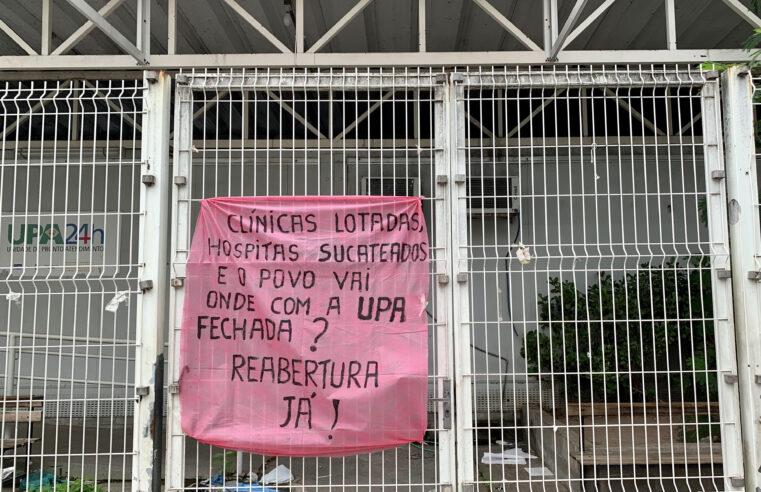 UPA de Manguinhos segue fechada e coletivos recorrem à justiça