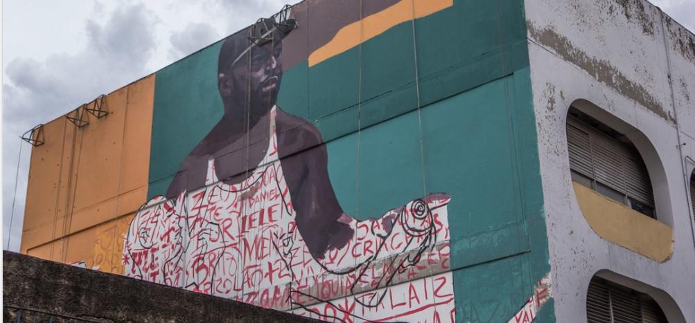 Intervenção artística no Complexo da Penha é inspirada em estudos sobre afetividade e corpos negros