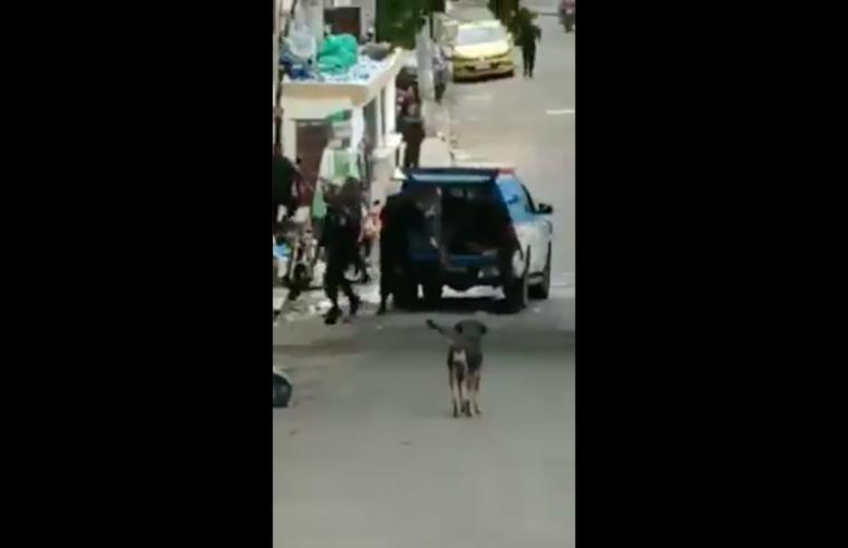 Final de semana é marcado por violência policial no Morro dos Macacos