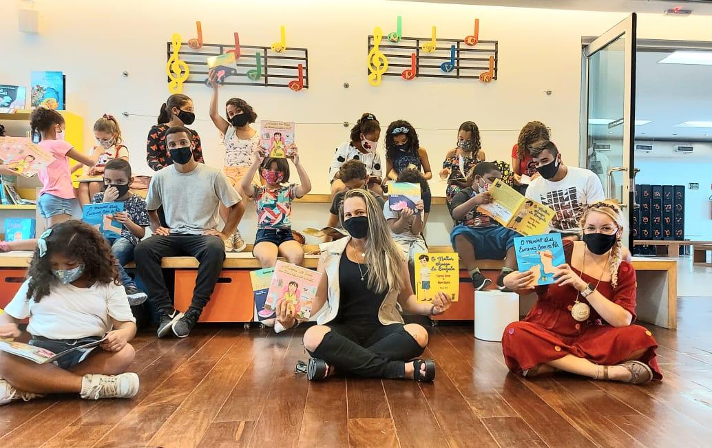 Biblioteca Parque de Manguinhos oferece contação de histórias inclusivas para crianças
