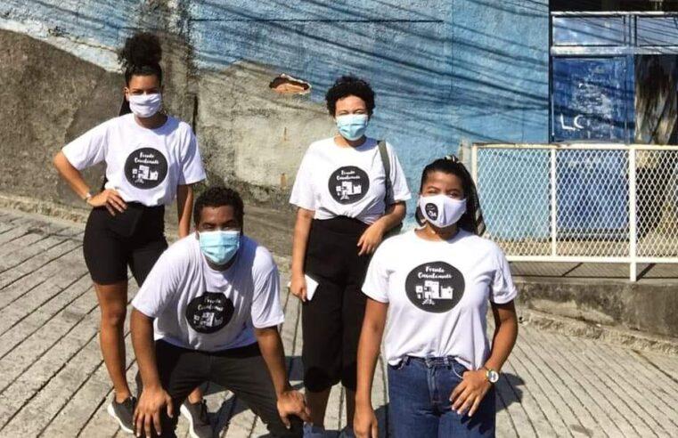 Coletivo Frente Cavalcanti realiza cuidados com a comunidade através de ações escolares