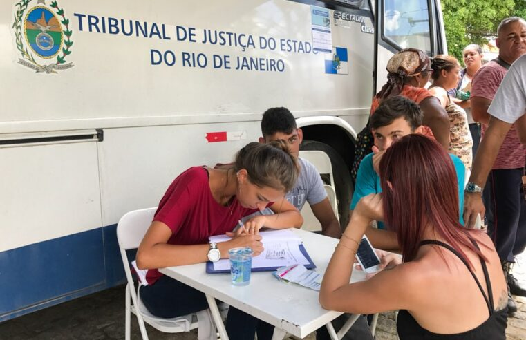Confira o calendário do ônibus da Justiça itinerante para favela do Batan