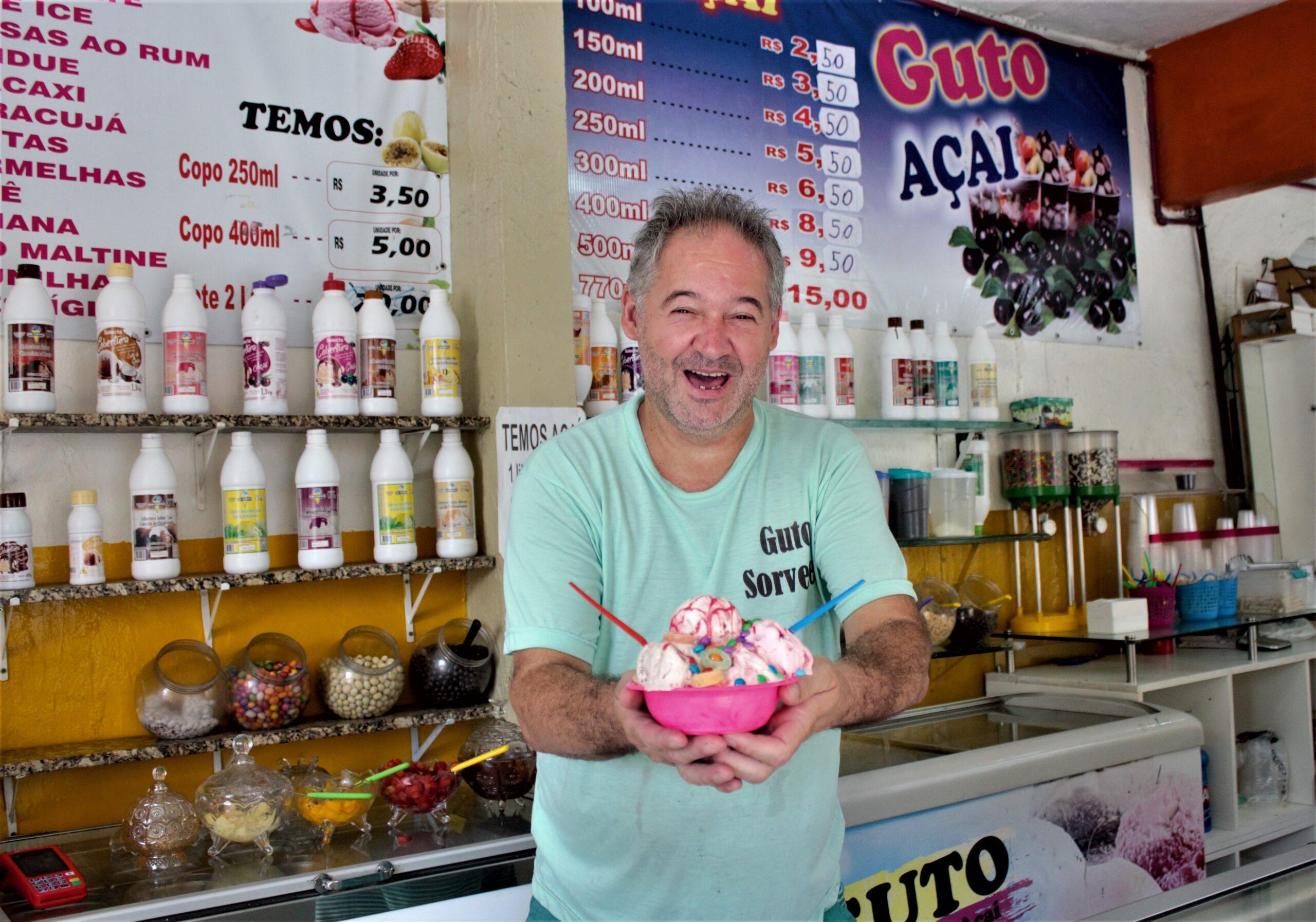 Conheça a Sorveteria do Guto, tradição e sabor na Vila Cruzeiro