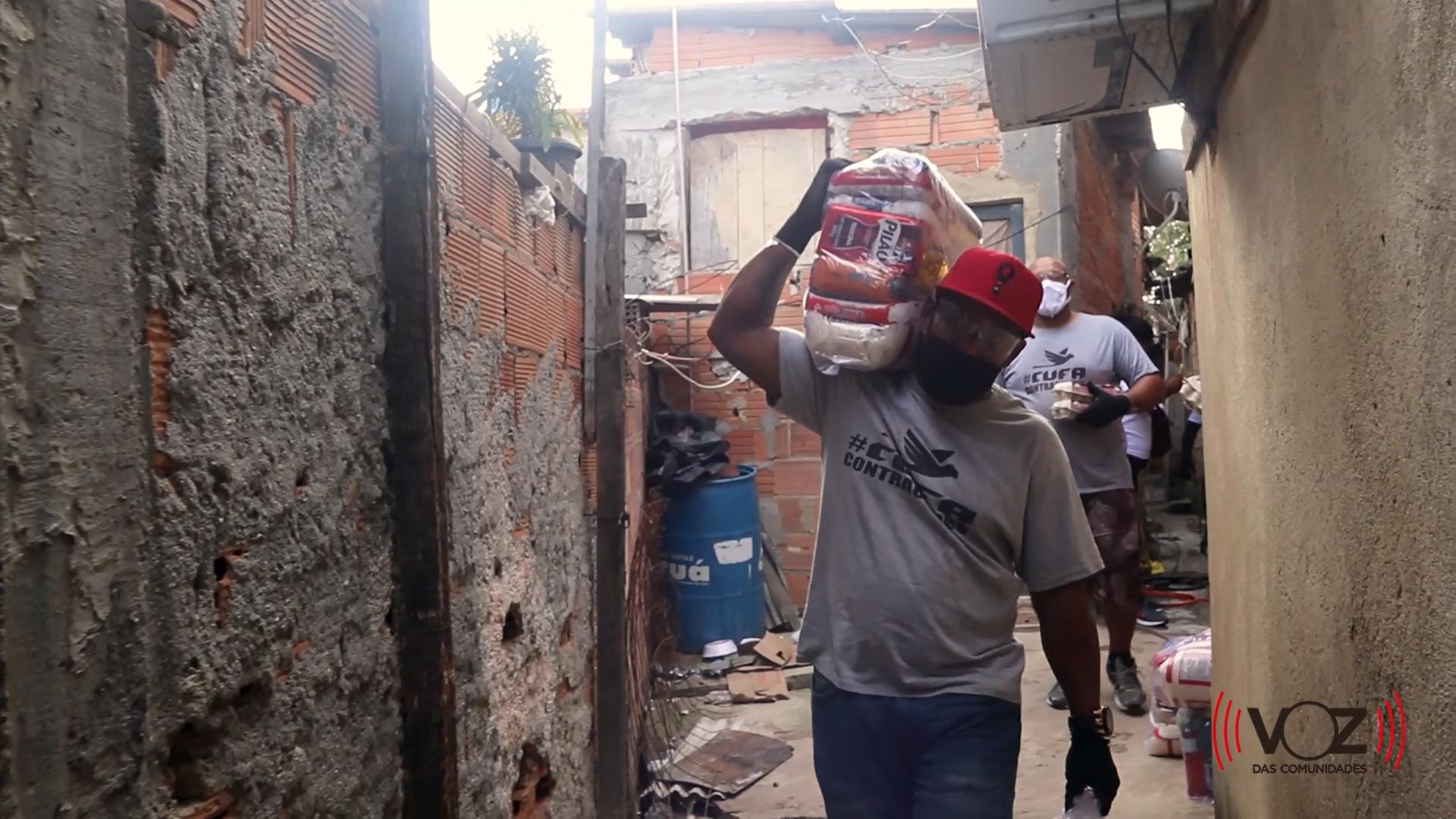 Projeto da CUFA 'Mães de Favela' ajuda mulheres chefes de família durante a pandemia de Covid-19
