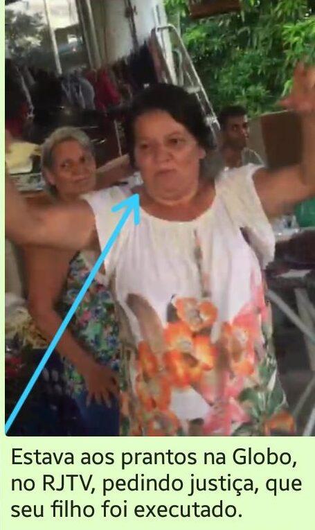 Mãe de jovem morto em chacina no Jacarezinho NÃO aparece em vídeo com armas