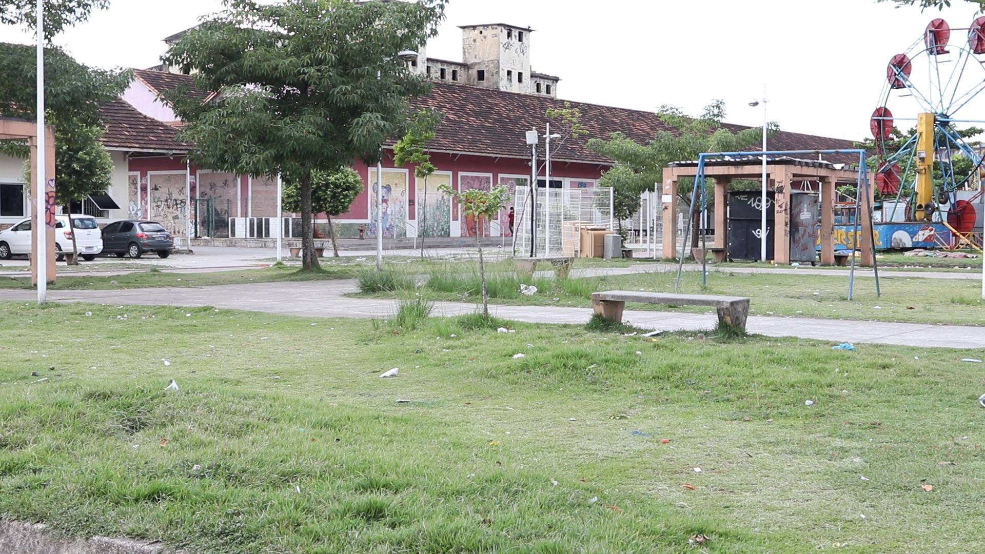 Morador de Manguinhos denuncia o abandono de espaços culturais na favela